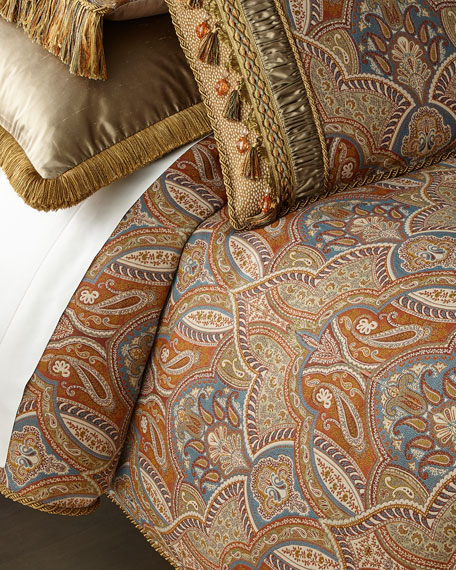 Dian Austin Couture Home Sandoa King Duvet with