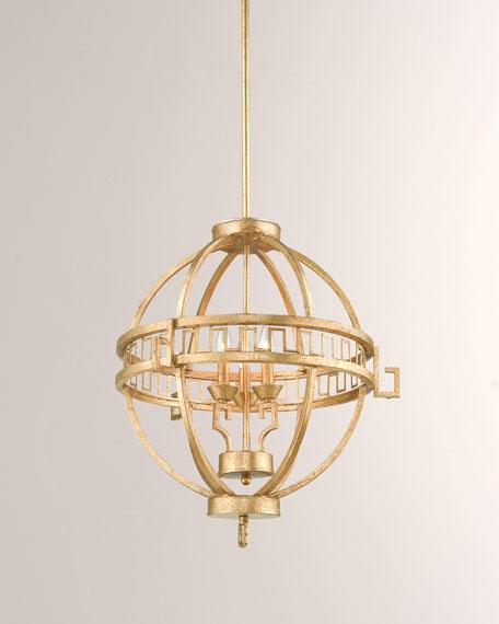 Lemuria 3-Light Round Globe Pendant