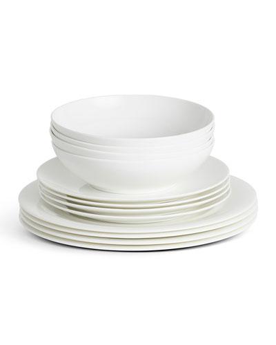 City Dweller 12-Piece Dinnerware Set