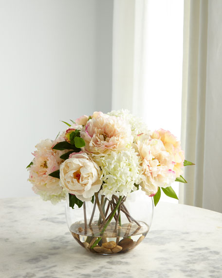 Fresh Garden Peonies Arrangement