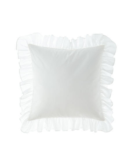 Sweet Dreams Eleanora European Sham with Ruffle Edge