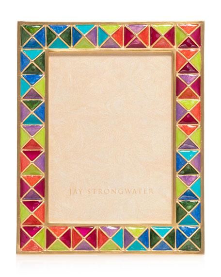 """Rainbow Pyramid Frame, 3"""" x 4"""""""