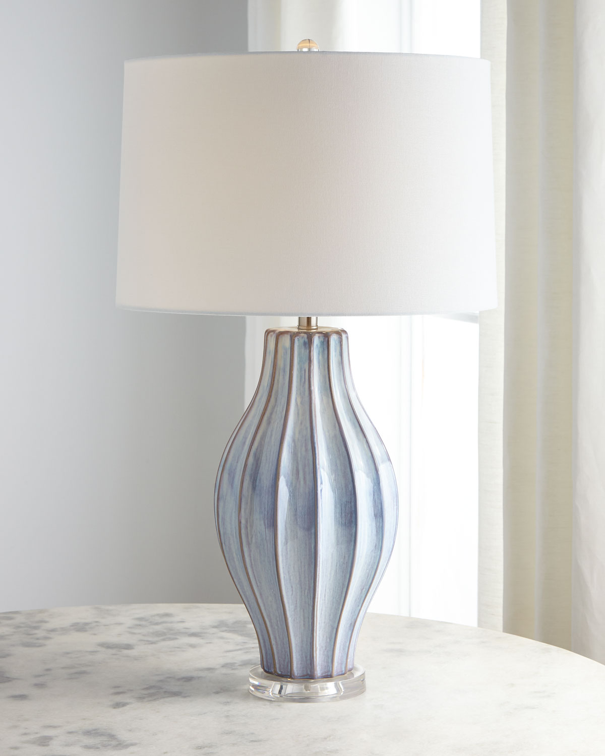 Jamie Youngocean Blue Reactive Table Lamp