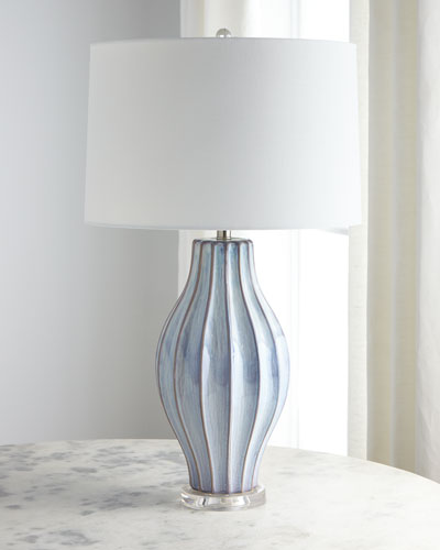 Ocean Blue Reactive Table Lamp