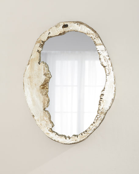 Organic Shape Large Mirror