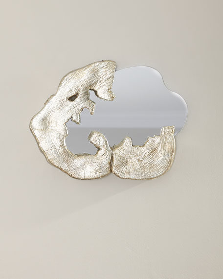 Organic Shape Medium Mirror