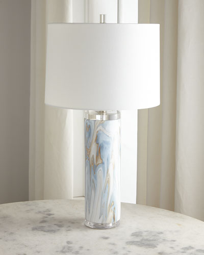 Swirl Ceramic Table Lamp