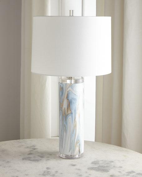 Swirl Ceramic Table Lamp