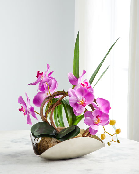 John-Richard Collection Organic Asian Orchid