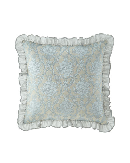 Viole European Sham with Ruffle Edge