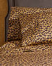 Leopard Print 300-Thread Count Queen Sheet Set