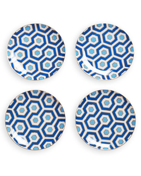 Jonathan Adler Newport Dessert Plates, Set of 4