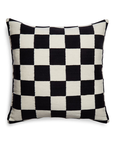 Pop Checkerboard Pillow