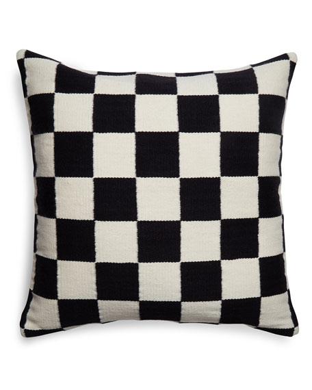 Pop Checkerboard Pillow