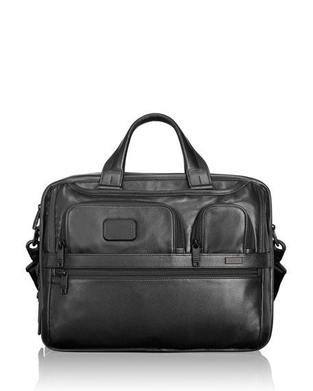 Tumi Alpha 2 Organizer Laptop Briefcase Bag