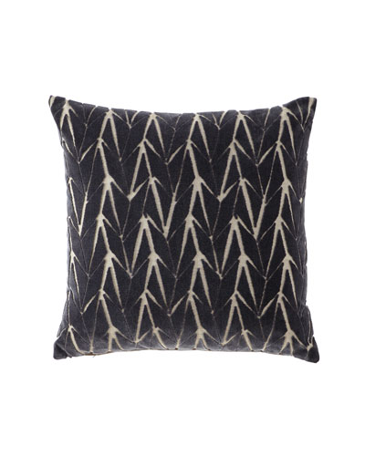 Phase Gray Decorative Pillow