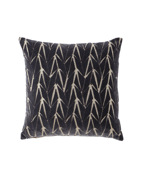 Eastern Accents Phase Gray Decorative Pillow