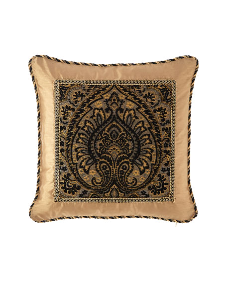 "Valour Framed Pillow, 20""Sq."