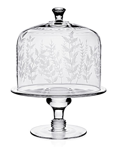 Fern Cake Stand & Dome