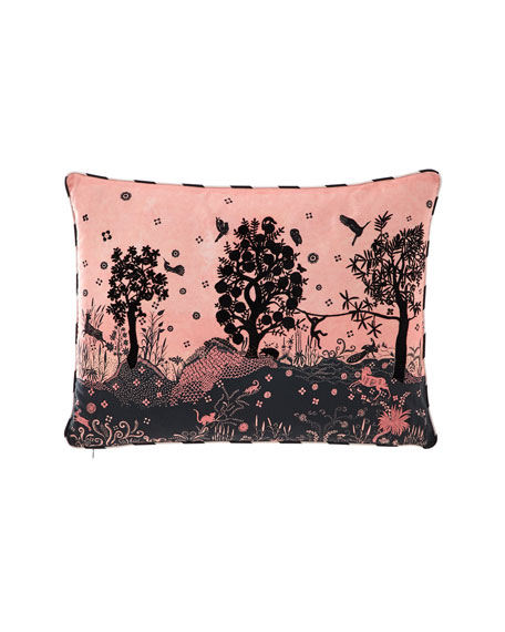 Christian Lacroix Bois Paradis Bourgeon Pillow