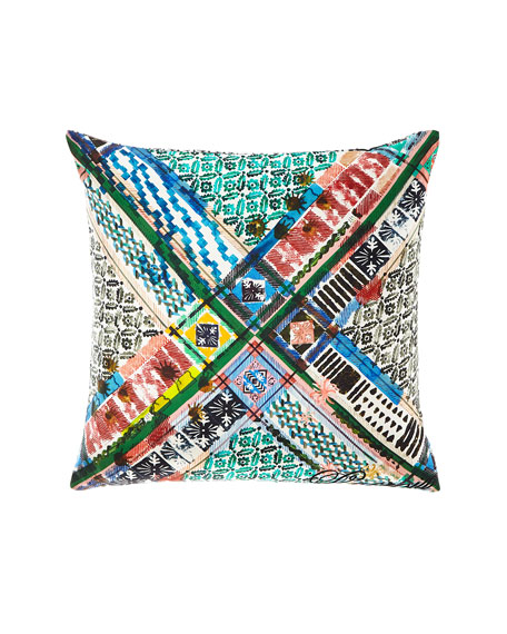 Talisman Multicolored Pillow
