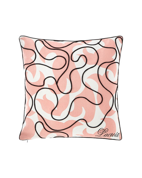 Christian Lacroix Feu Follet Bourgeon Pillow
