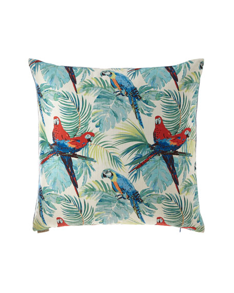 D.V. Kap Home Macaw Pillow