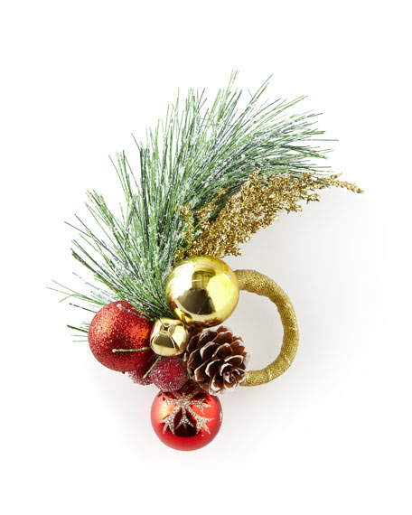 Christmas Sprig Napkin Ring