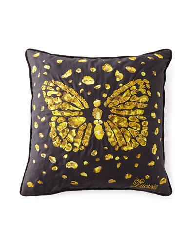 Le Messager Iris Pillow