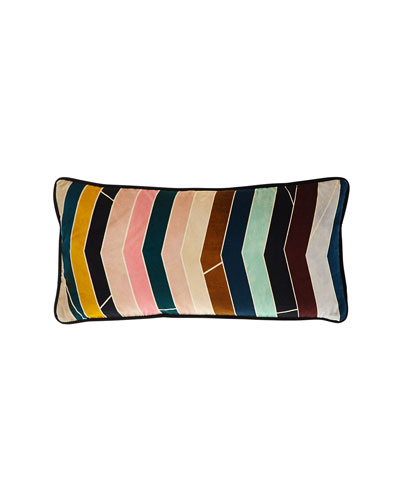 Pietra Dura Multicolored Pillow