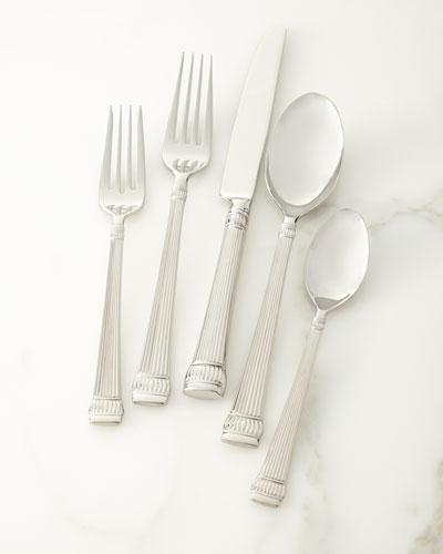 45-Piece Girasole Flatware Set