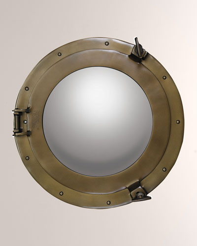 Cabin Porthole Mirror  Medium