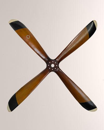 Sopwith Plane Propeller Wall Art  Fourblade