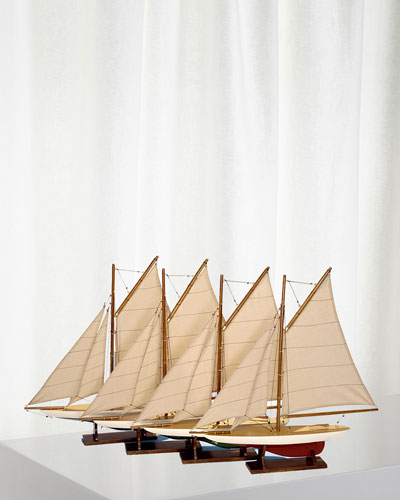 Mini Pond Yachts  Set 4