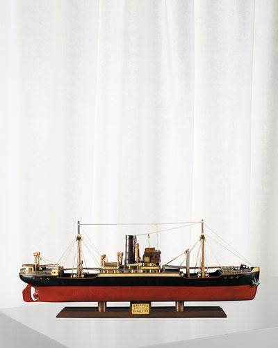 Tramp Steamer Malacca Model Ship