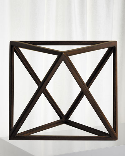 Octahedron Decor