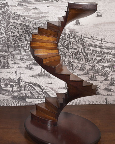 Spiral Stairs Architectural Model