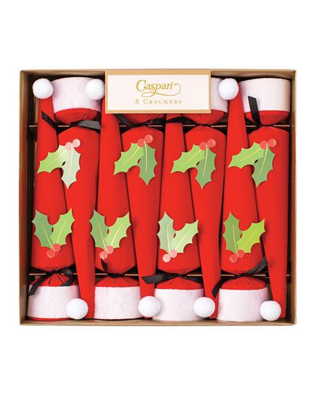 Caspari Santa Hat Crackers