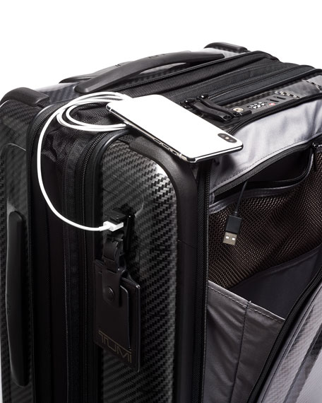 Continental Expandable Wheeled Carry-On Luggage