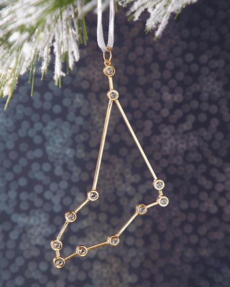Capricorn Zodiac Ornament