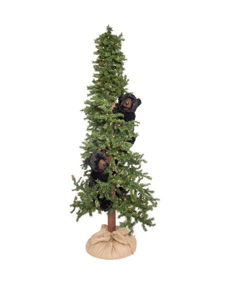 """Alpine Bear Frolic Tree, 72"""""""
