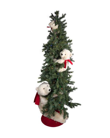 "Christmas Polar Bear Trio, 72"""