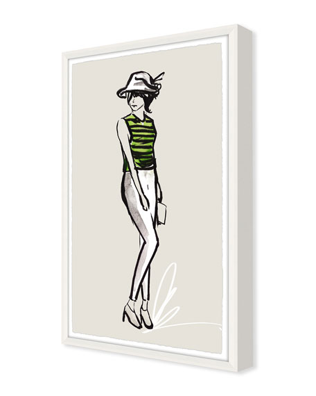 OOTD Casual III Giclee On Paper Wall Art With Frame