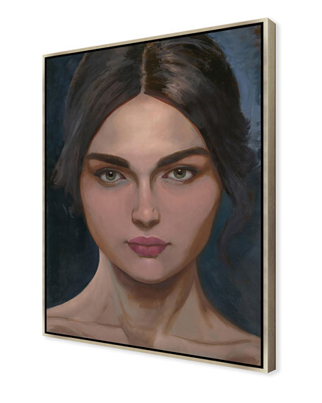 Elanor Giclee On Canvas Wall Art With Frame