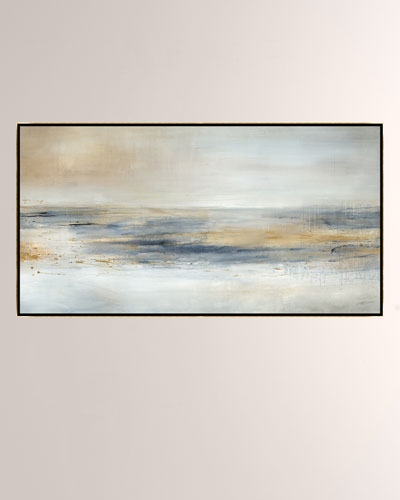 Cold Water Giclee On Canvas Wall Art With Frame