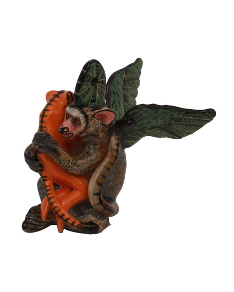 Ardmore Ceramic Art Monkey Ornament