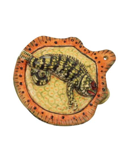 Bee Chameleon Ornament