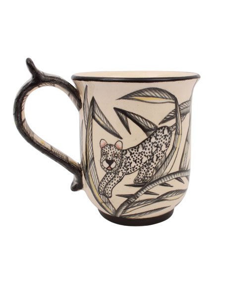 Ardmore Ceramic Art King Cheetah Mug