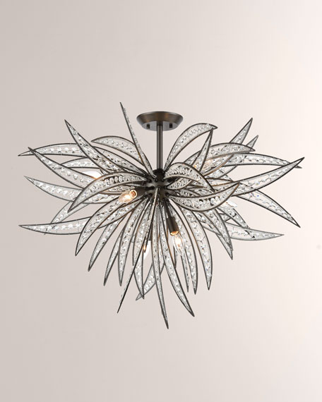 Naples 8-Light Semi Flush Mount