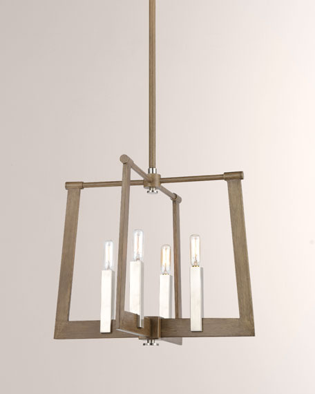Axis 4-Light Large Vertical Pendant